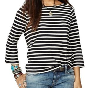 Denim & Supply Ralph Lauren striped boater sweater